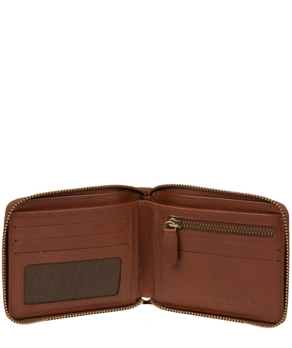 'Edwards' Tan Leather Wallet image 2