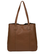 'Ruxley' Tan Leather Tote Bag image 3