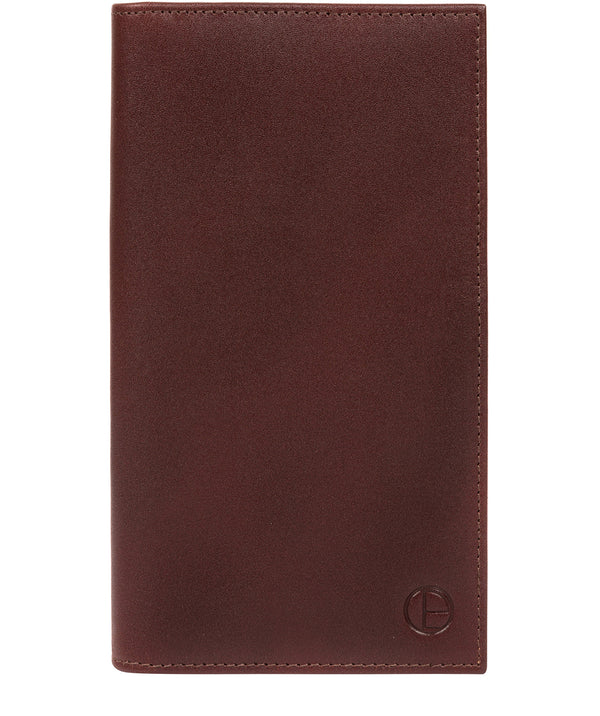 'Gregan' Brown Leather Breast Pocket Wallet image 1