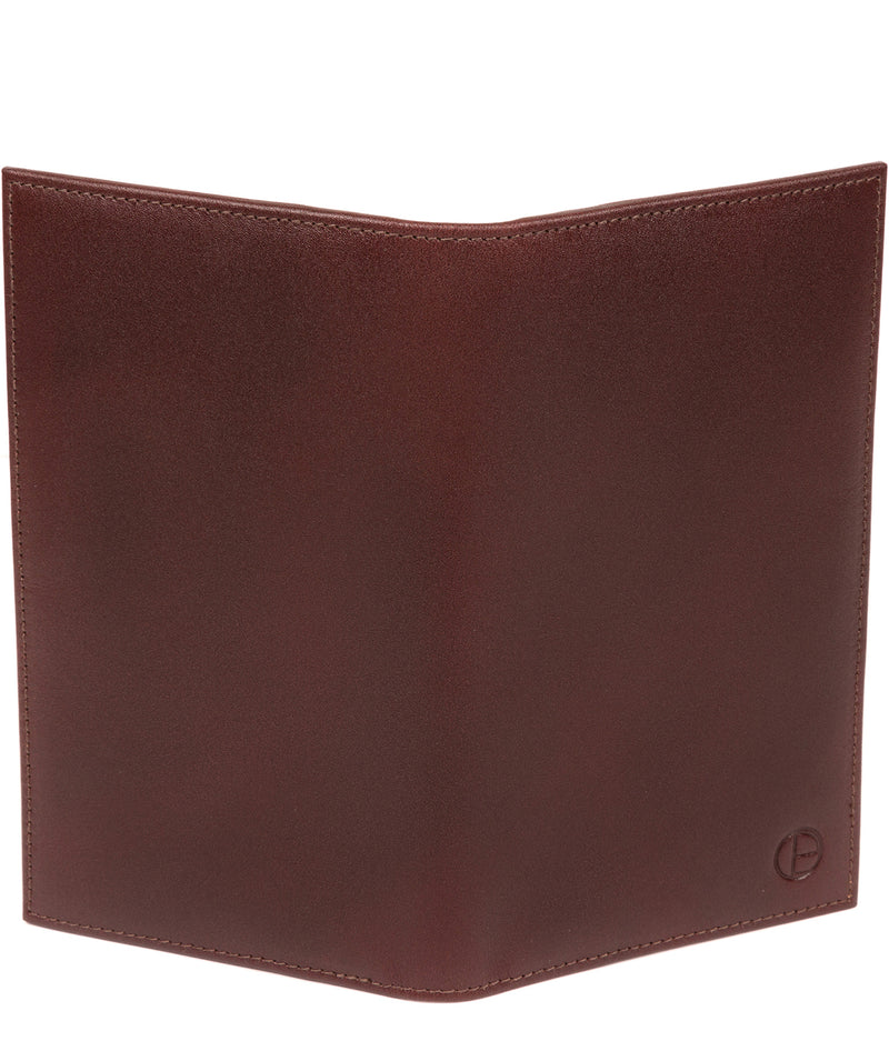 'Gregan' Brown Leather Breast Pocket Wallet image 5