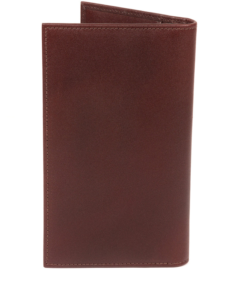 'Gregan' Brown Leather Breast Pocket Wallet image 6