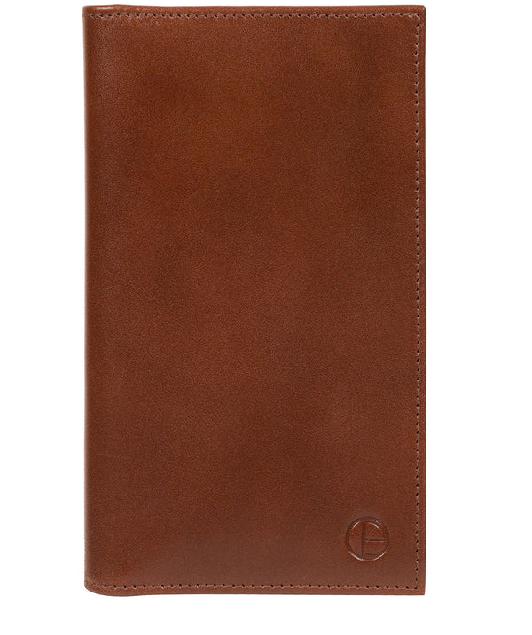 'Gregan' Tan Leather Breast Pocket Wallet image 1
