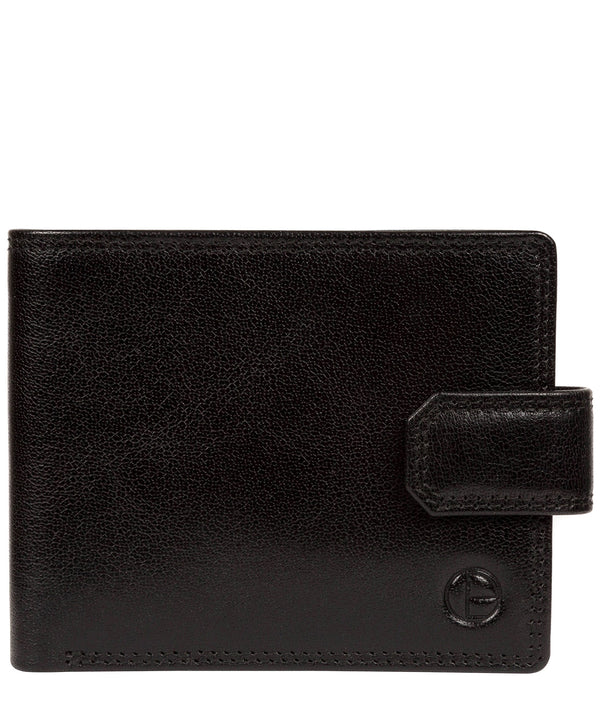 'Farrell' Black Leather Wallet image 1