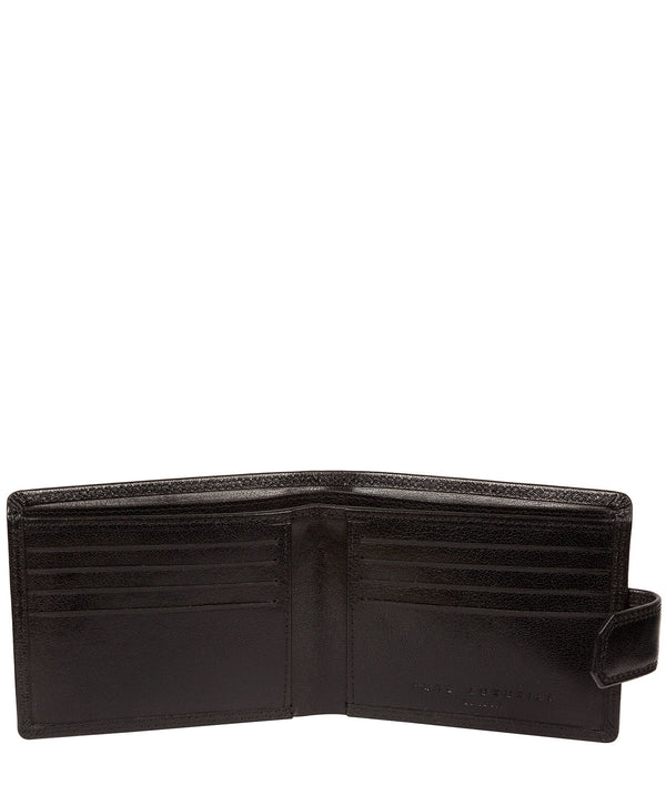 'Farrell' Black Leather Wallet image 2