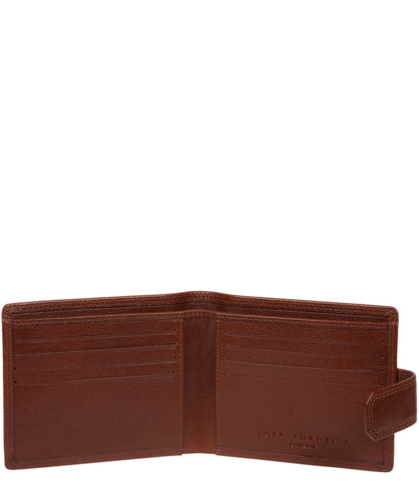 'Farrell' Tan Leather Wallet image 2