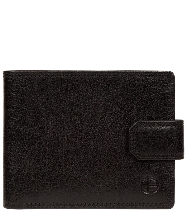 'Brodie' Black Leather Wallet image 1