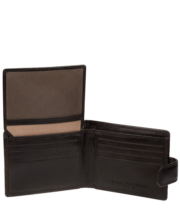 'Brodie' Black Leather Wallet image 2