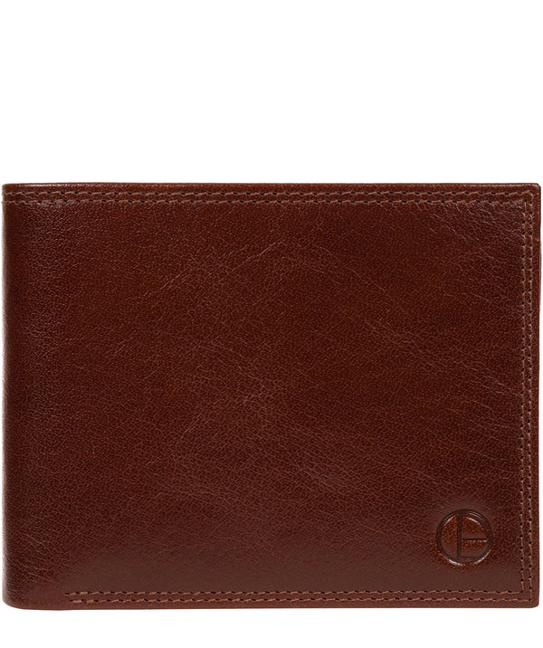 'North' Tan Leather Wallet image 1