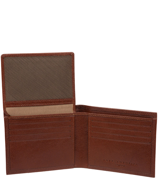 'North' Tan Leather Wallet image 2