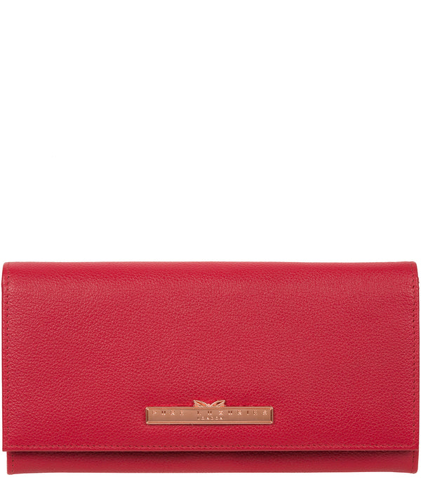 'Winslett' Cherry Leather Purse image 1