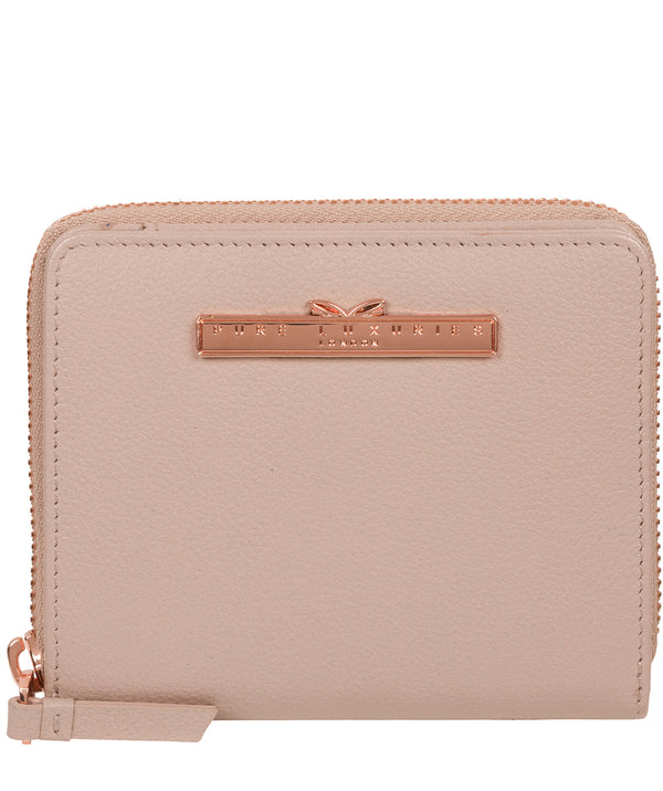 'Mirren' Dusty Pink Leather Purse image 1
