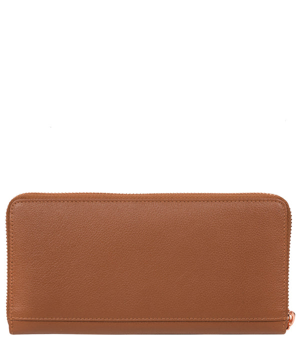 'Knightley' Tan Leather Purse Pure Luxuries London