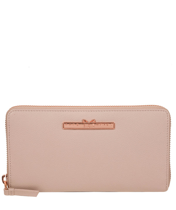 'Nardini' Dusty Pink Leather Purse image 1