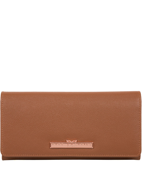 'Arterton' Tan Leather Purse image 1