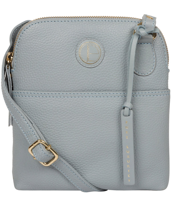 'Orsola' Cashmere Blue Leather Cross Body Bag image 1