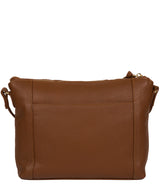 'Yoshi' Tan Leather Cross Body Bag image 3