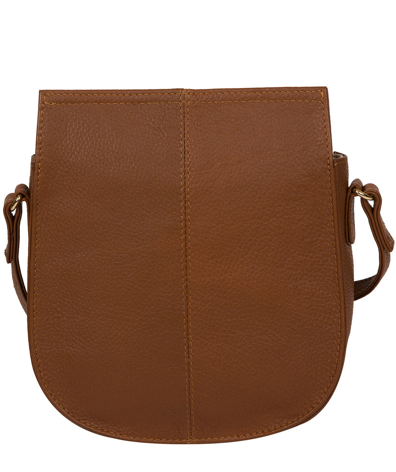 'Toto' Tan Leather Cross Body Bag image 3