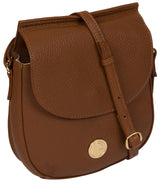 'Toto' Tan Leather Cross Body Bag image 5