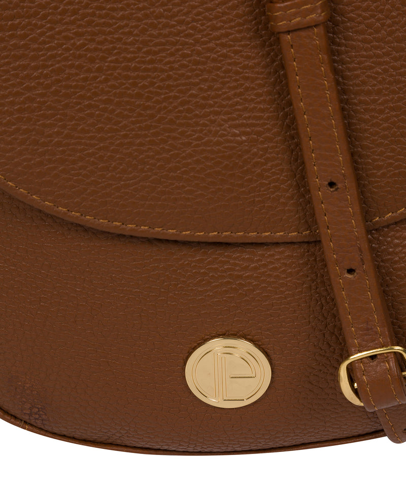 'Toto' Tan Leather Cross Body Bag image 6