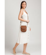 'Toto' Tan Leather Cross Body Bag image 2