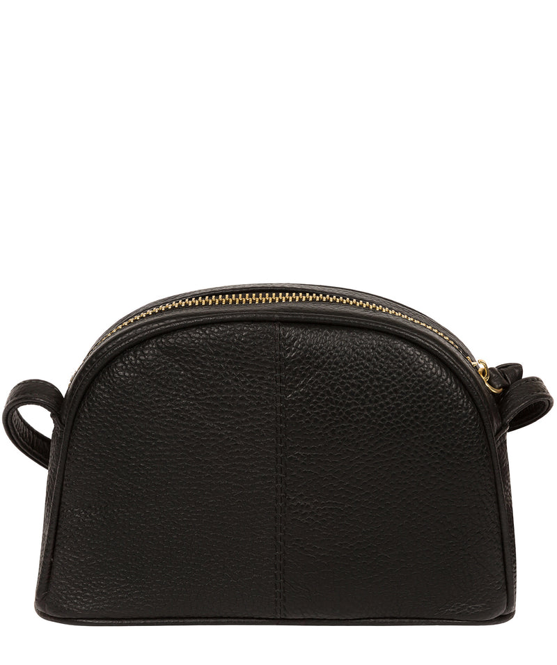 'Pixie' Black Leather Cross Body Bag image 3