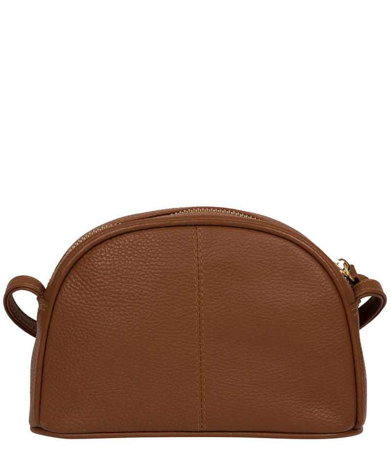 'Pixie' Tan Leather Cross Body Bag image 3