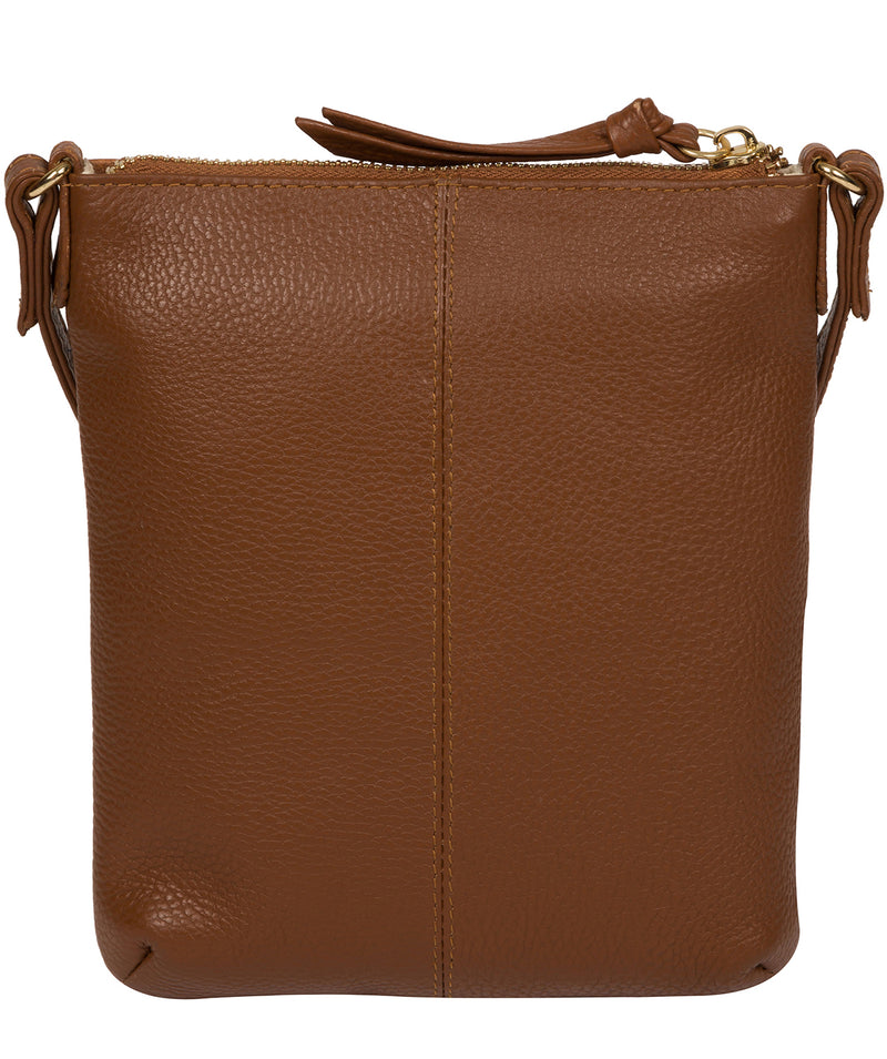 'Trixie' Tan Leather Cross Body Bag image 3