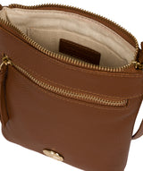 'Trixie' Tan Leather Cross Body Bag image 4