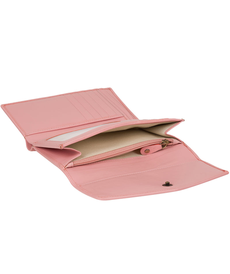 'Highgrove' Blossom Pink Leather Purse image 5
