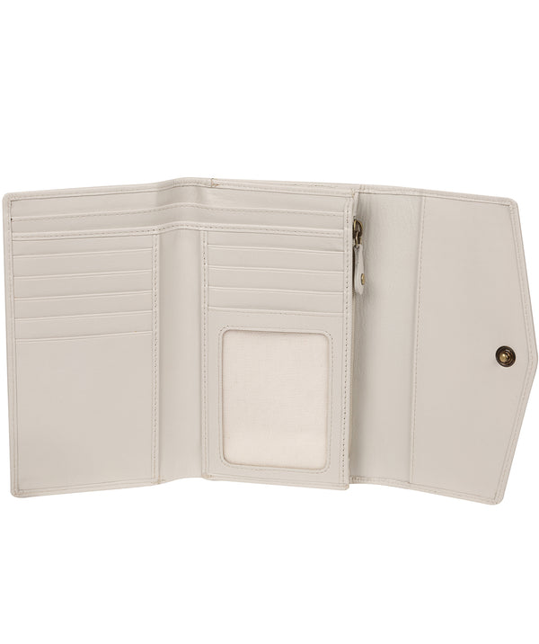 'Highgrove' Glacier Grey Leather Purse image 2