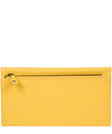 'Balmoral' Dandelion Leather Purse image 6