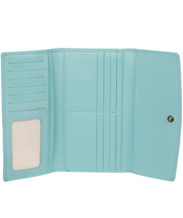 'Balmoral' Paradise Blue Leather Purse image 2