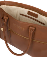 'Buckingham' Tan Leather Tote Bag image 4