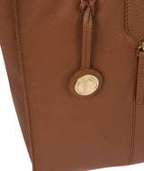 'Buckingham' Tan Leather Tote Bag image 6