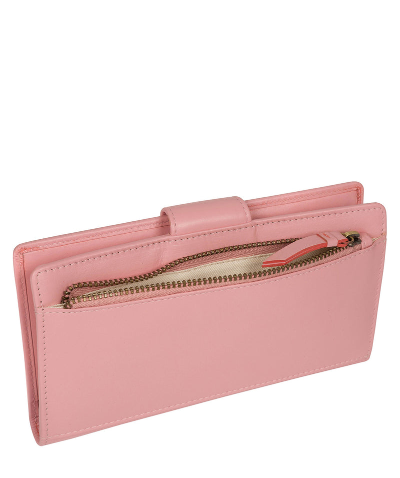 'Clarendon' Blossom Pink Leather Purse image 4