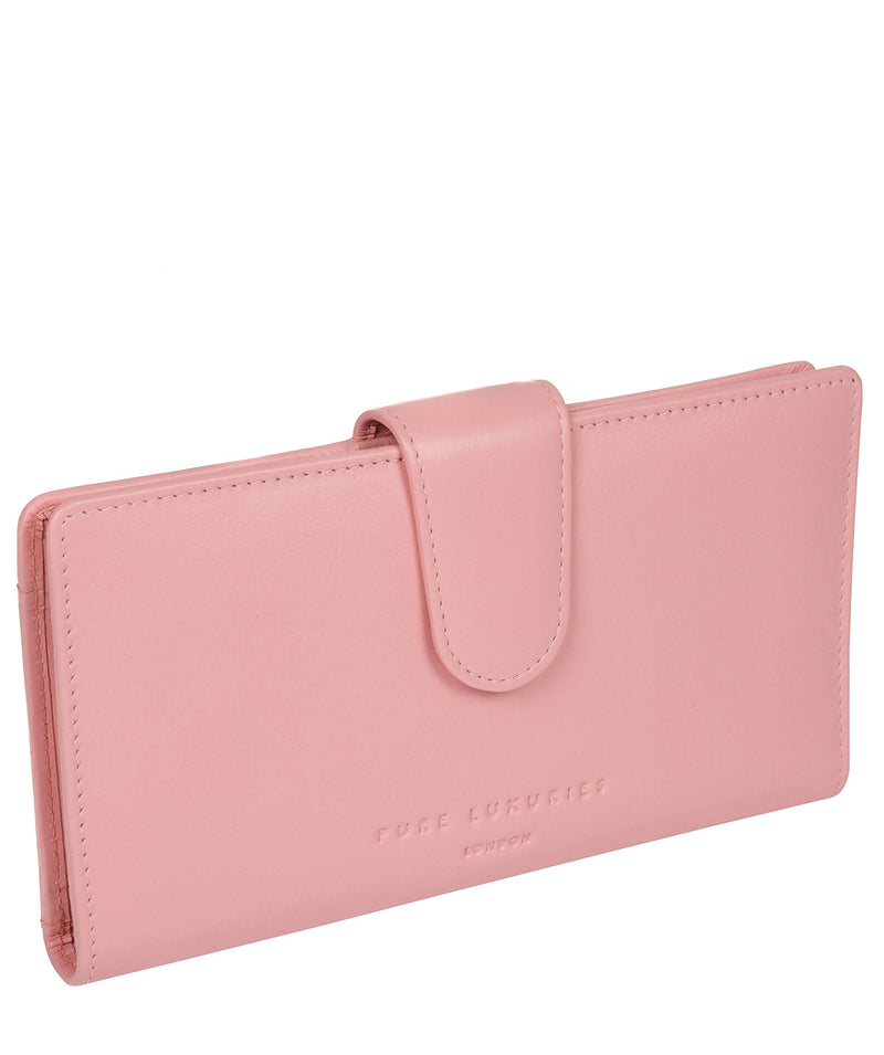 'Clarendon' Blossom Pink Leather Purse image 5