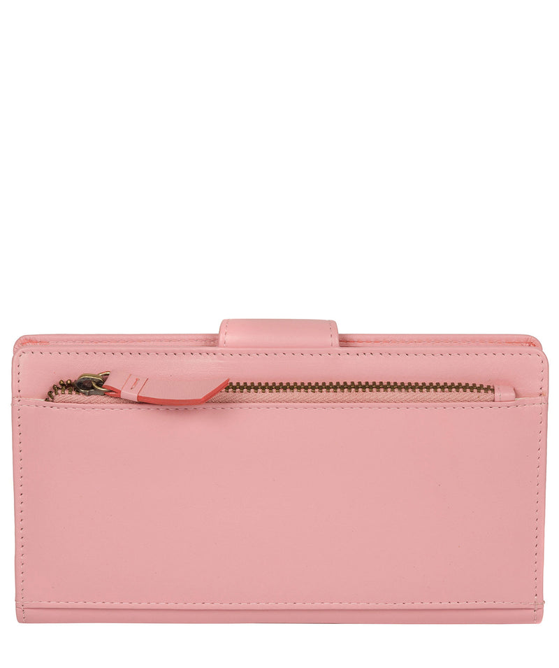 'Clarendon' Blossom Pink Leather Purse image 6