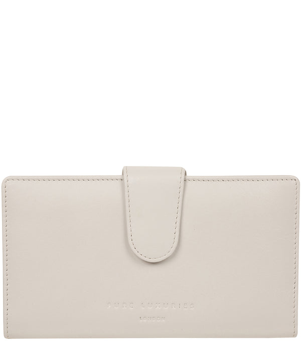 'Clarendon' Glacier Grey Leather Purse image 1