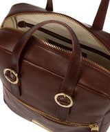 'Delfina' Brown Leather Backpack image 4