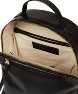 'Natala' Black Leather Backpack image 4