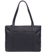 'Adley' Navy Leather Handbag image 3