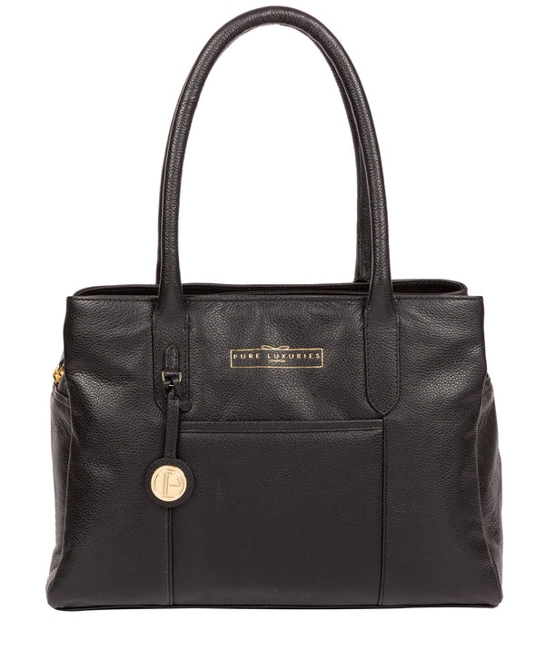 'Chatham' Black Leather Handbag image 1