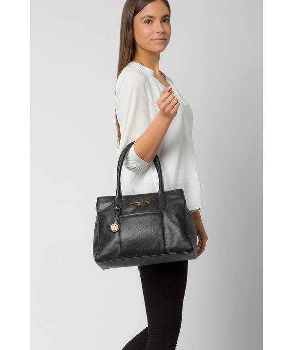 'Chatham' Black Leather Handbag image 2