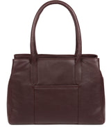 'Chatham' Plum Leather Handbag image 3