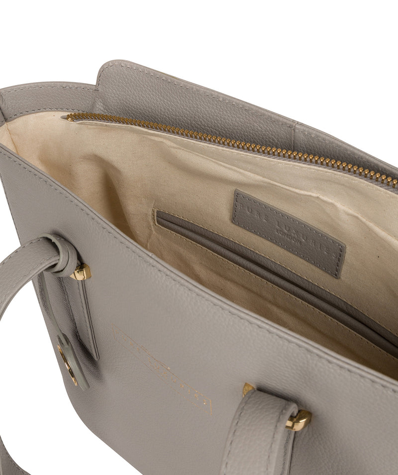 'Blakeley' Grey Leather Handbag image 4