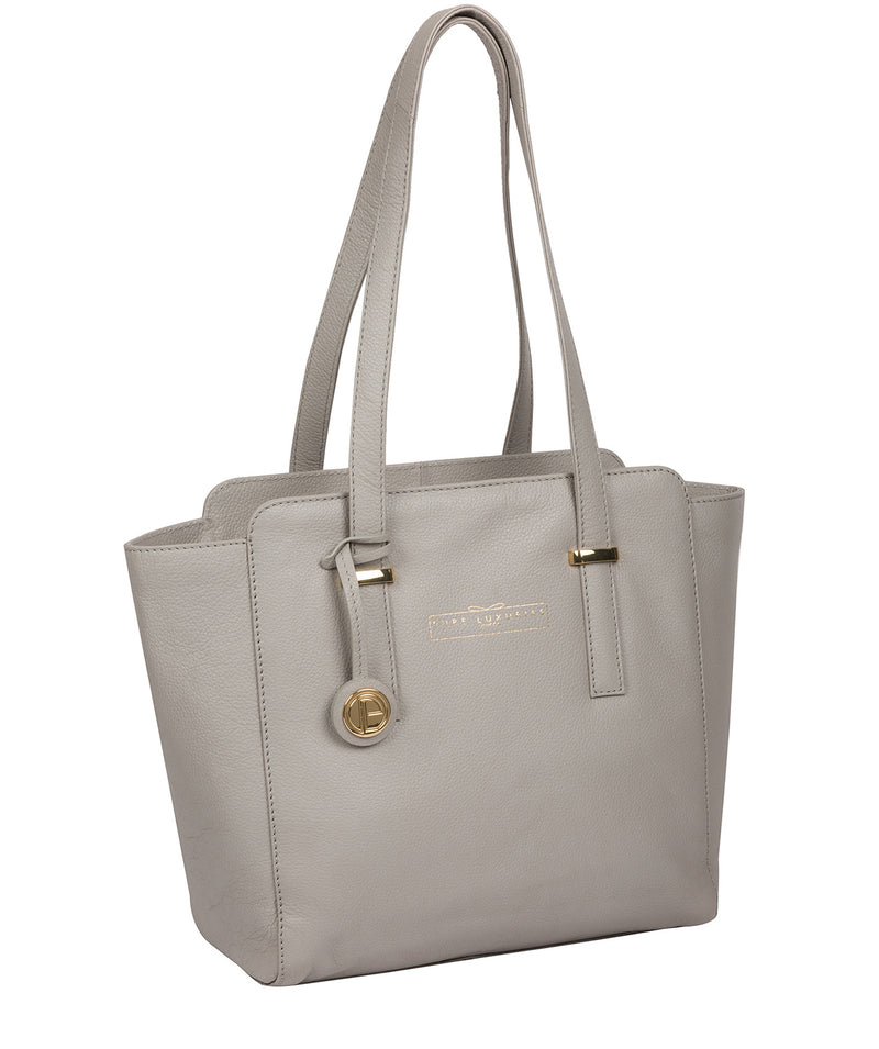 'Blakeley' Grey Leather Handbag image 5