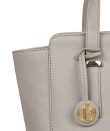 'Blakeley' Grey Leather Handbag image 6