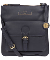 'Kenley' Navy Leather Cross Body Bag image 1