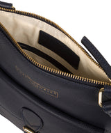 'Kenley' Navy Leather Cross Body Bag image 4