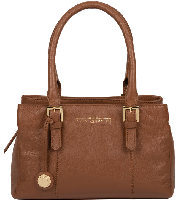 'Astley' Tan Leather Handbag image 1